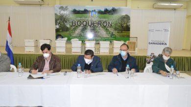 Photo of Firma de Acuerdo de Cooperación Interinstitucional entre el Viceministerio de Ganadería e Instituciones de Boquerón